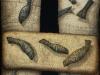 """Mystical constellation of fish"" 140х100 canvas/acrylic"