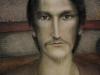"""Portrait of Timur Novikov""  80х60 canvas/acrylic"